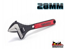 Adjustable Wrench, 28 x 206MM - TENG TOOLS (17818-0204)