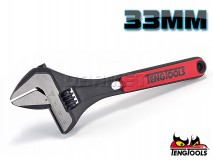 Adjustable Wrench, 33 x 255MM - TENG TOOLS (17818-0303)