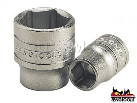 "6 Point TENG TOOLS M140508-C1//4/"" Drive Regular 8mm Socket"