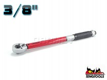 "Torque Wrench 3/8"" with Ratchet, Length: 277MM, Range: 5-25Nm - TENG TOOLS (7319-0050)"