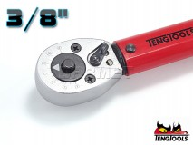 """Torque Wrench 3/8"""" with Ratchet, Length: 277MM, Range: 5-25Nm - TENG TOOLS (7319-0050)"""
