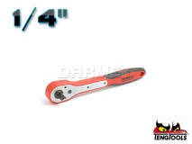 "Ratchet with 1/4"" Drive, 1400FRP - 150MM - TENG TOOLS ( 7429-0107)"