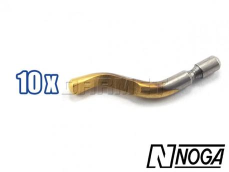 Swivel blades N1 TiN, Pack: 10 pcs - NOGA (BN1012)