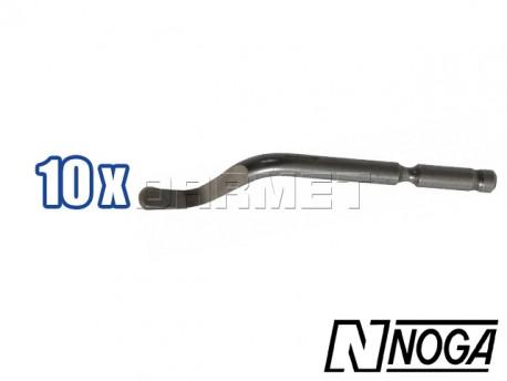 Swivel blades S100 Cobalt, Pack: 10 pcs - NOGA (BS1018)