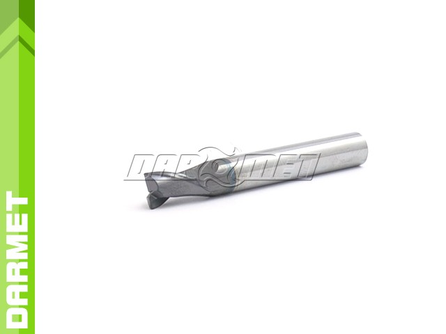 2-Flute End Mill for General Use, Short DIN6527-K, VHM AlTiN - 4MM - DARMET