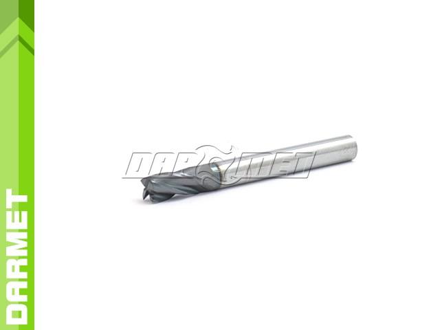 4-Flute End Mill for General Use, Short DIN6527-K, VHM AlTiN - 4MM - DARMET