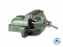 Heavy Duty Bench Vise 100MM - BISON BIAL (1240-100)