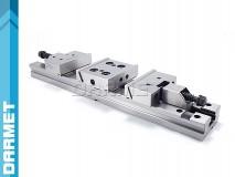 Imadło precyzyjne stalowe podwójne 125 mm - FPZD125/2x100 DARMET