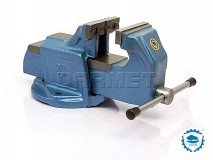 Heavy Duty Bench Vise 80MM - BISON BIAL (1250-80)