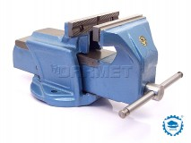 Heavy Duty Bench Vise 125MM - BISON BIAL (1250-125)