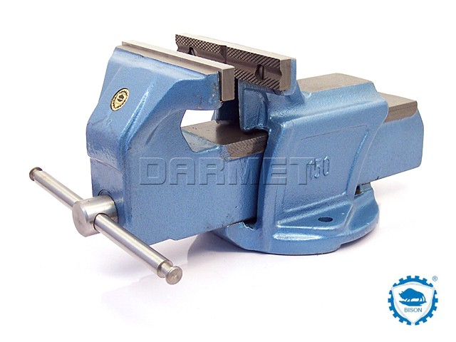 Heavy Duty Bench Vise 125mm Bison Bial 1250 125 Toolsmach Tools And Machinery Equipment