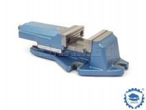 Machine Vise with Movable Rear Jaw 100MM - BISON BIAL (6512-100)