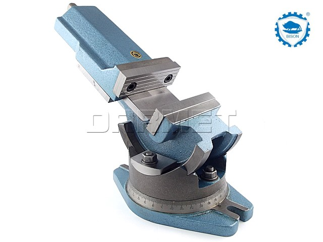 2-Way Angle Machine Vise 160MM - BISON BIAL (6530-160)