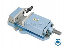 Machine Vise with Prismatic Guidance of Movable Jaw 155MM - BISON BIAL (6910-155)