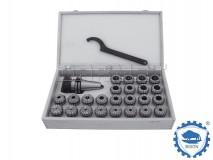 ER16 x 8 pcs - DIN30 Collet Chuck Set - BISON BIAL (Type 7617)