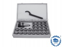 ER32 x 8 pcs - DIN30 Collet Chuck Set - BISON BIAL (Type 7617-PL)