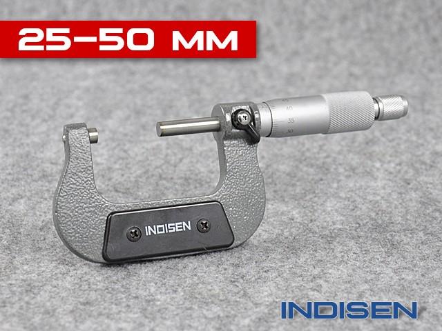 Outside Micrometer 25 - 50MM - INDISEN (2322-2550)