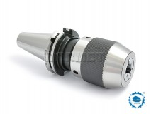 Keyless Drill Chuck with Shank DIN40, 3-16MMM - BISON BIAL (Type 7655)