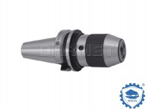 Keyless Drill Chuck with Shank BT40, 3-16MMM - BISON BIAL (Type 7656)