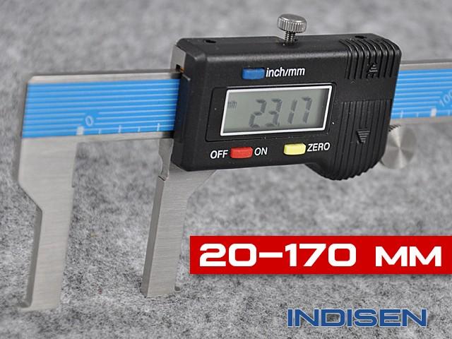 Electronic Inside Groove Caliper 20-170MM - INDISEN (1230-2017)