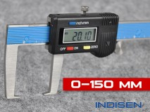 Electronic Outside Groove Caliper 150MM - INDISEN (1231-1500)