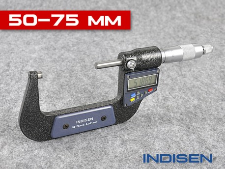 Electronic Outside Micrometer 50 - 75MM - INDISEN (2311-5075)