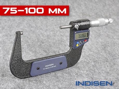 Electronic Outside Micrometer 75 - 100MM - INDISEN (2311-7510)