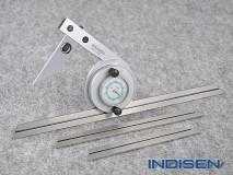 Universal Dial Protractor 0-360° - INDISEN (7410-0360)