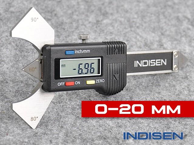 Electronic Weld Gauge 20MM - INDISEN (1232-0200)