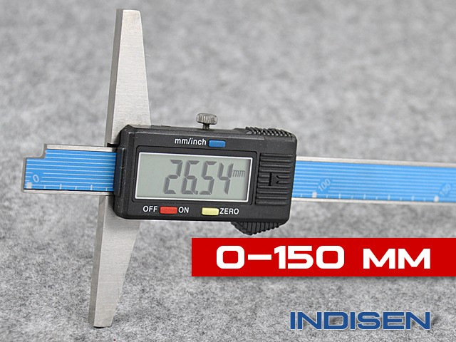 Electronic Depth Gauge 150MM - INDISEN (4130-1500)
