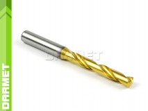 Solid Carbide Drill with Cylindrical Shank, 5xD - 8,5MM, VHM TiN - DARMET