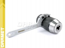 Uchwyt wiertarski 13mm samozaciskowy na stożek B18 - DARMET (J0113-P)