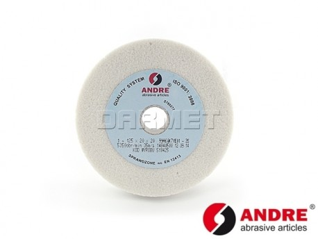 Straight Grinding Wheel, Type 1 - 100MM x 20MM x 20MM - ANDRE (510164)
