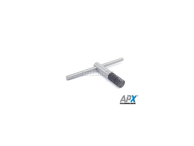 Wrench for 200MM, 250MM Lathe Chucks, Square 12X12MM - APX (K-12)