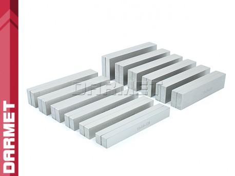 Zestaw 12 par | Bloczki równoległościenne | podkładki frezarskie 120 x 10 mm - DARMET (PB155-1)