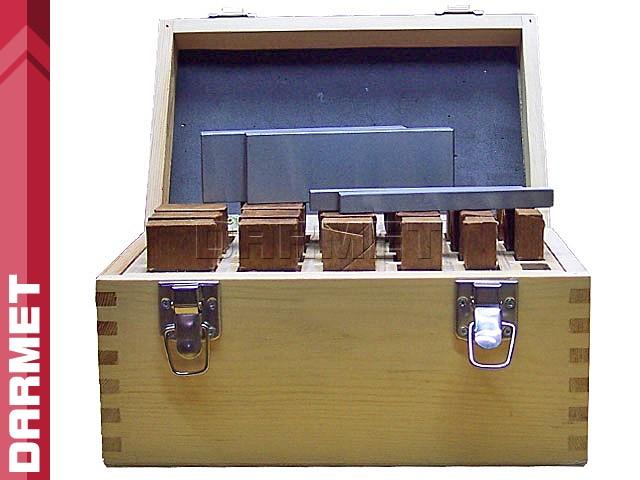 Zestaw 24 par   Bloczki równoległościenne   podkładki frezarskie 125 x 8-14 mm - DARMET (PB153-1)