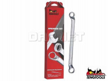 8 Piece Double Ended Ring Spanner Set - (6308) TENG TOOLS