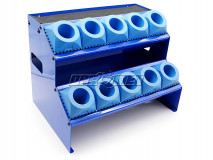 Toolholder rack for CNC tools with a SK40 shank| DIN69871 | MAS 403-BT | DIN2080 | 10 sockets - DARMET