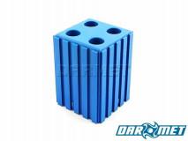 Stojak na narzędzia z chwytem walcowym   12 mm   kolor niebieski (2006)