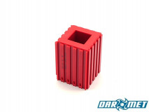Turning tool stand for 25x25 mm shank turning tools and toolholders | Color: red (2311)