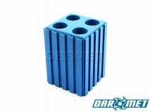 Stojak na tulejki zaciskowe ER16    koszyczki 4 x ER16   kolor niebieski (2034)
