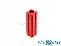 Toolholder stand for MT1 Morse taper shank toolholders | Color: red (2013)