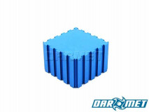 Tool stand connetor / edge stop 50 x 50 x 35 mm | Color: blue (2101)