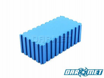 Tool stand connetor / edge stop 100 x 50 x 35 mm | Color: blue (2108)