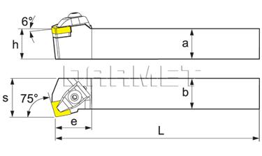 External turning toolholder