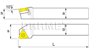 Indexable Threading Toolholder