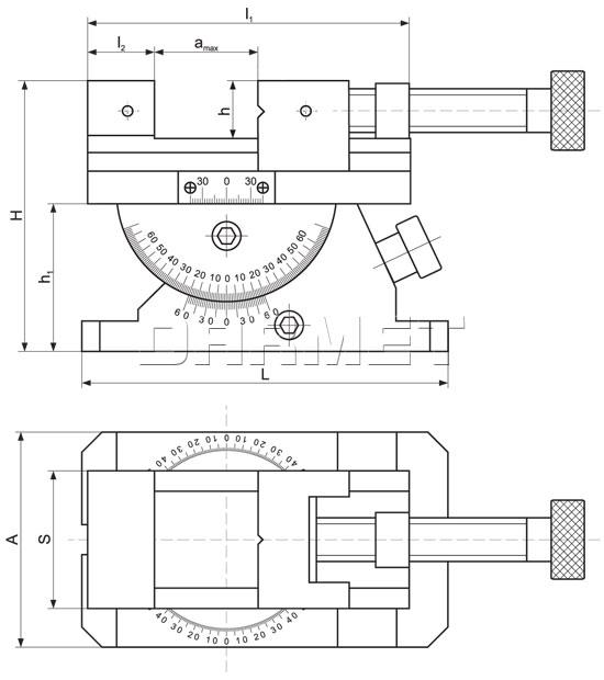 Precision Toolmakers Angle Vise